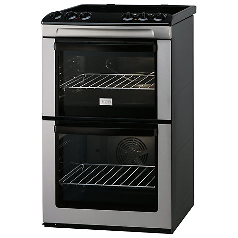 Buy Zanussi ZCV551MX Electric Cooker, Stainless Steel Online at johnlewis.com