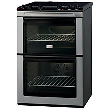 Buy Zanussi ZCV661MX Electric Cooker, Stainless Steel Online at johnlewis.com
