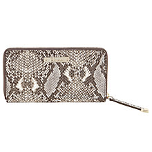Buy Somerset by Alice Temperley Creston Leather Zip Wallet Online at johnlewis.com
