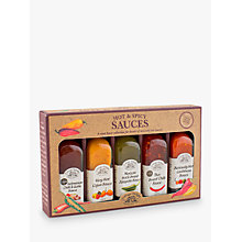Buy Cottage Delight Mini Hot Sauces Set, 60ml Online at johnlewis.com