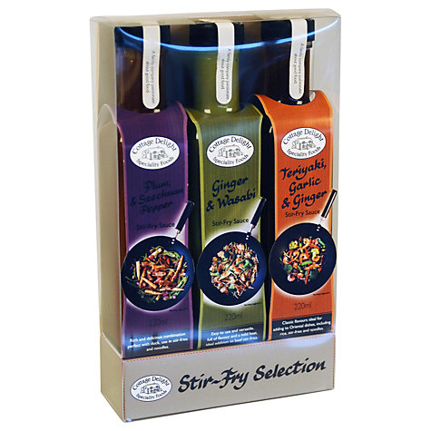 Buy Cottage Delight Stir Fry Selection, 200ml, Pack of 3 Online at johnlewis.com