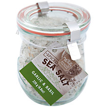 Buy Wildly Delicious Garlic and Basil Salt with Spoon, 220g Online at johnlewis.com