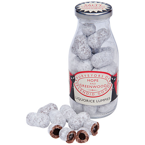 Buy Hope and Greenwood Salt Liquorice Lumpies, 175g Online at johnlewis.com