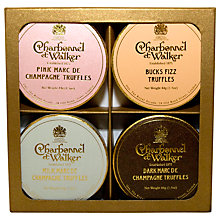 Buy Charbonnel et Walker Mini Boozie Truffles Set, 4 x 44g Online at johnlewis.com