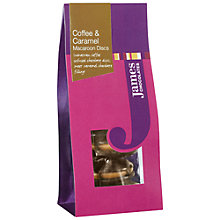 Buy James Chocolates Coffee and Caramel Macaroons, 85g Online at johnlewis.com