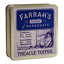 Buy Farrah's Treacle Toffee Travel Tin, 100g Online at johnlewis.com