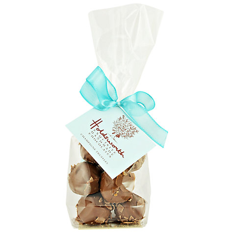 Buy Holdsworth Champagne Truffles Gift Bag, 100g Online at johnlewis.com