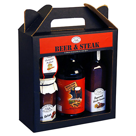Buy Cottage Delight Beer and Steak Set Online at johnlewis.com