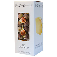 Buy The Fine Cheese Co. Fig Flavoured Crackers, 150g Online at johnlewis.com