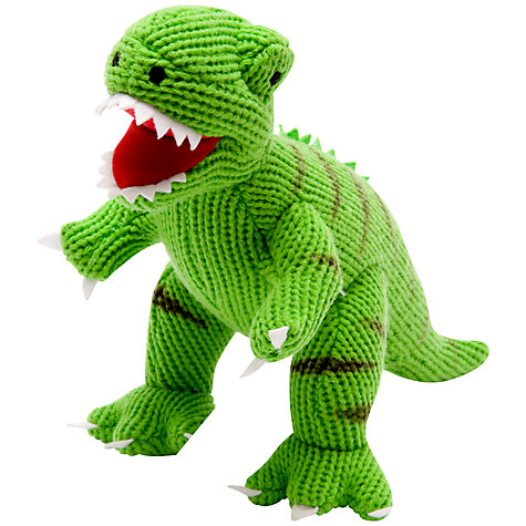Buy Best Years Knitted T-Rex Toy Online at johnlewis.com
