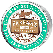 Buy Farrah's Mint Travel Sweets Tin, 200g Online at johnlewis.com