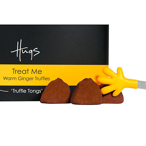 Buy Hugs Ginger Truffles Tin, 100g Online at johnlewis.com