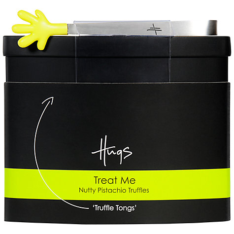 Buy Hugs Pistachio Truffles Tin, 100g Online at johnlewis.com