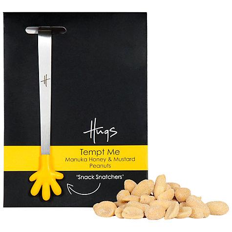 Buy Hugs Honey and Mustard Peanuts Gift Set, 60g Online at johnlewis.com