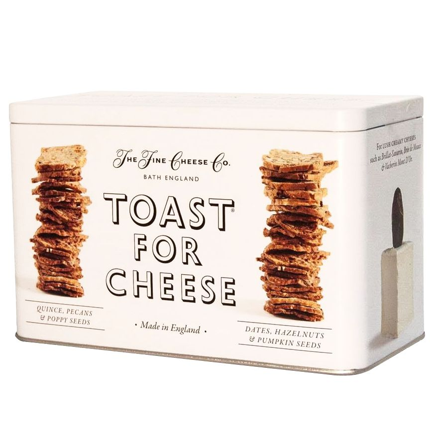 The Fine Cheese Co. The Fine Cheese Co. Toast For Cheese Biscuit Tin, 200g