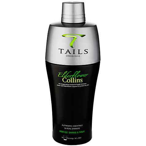 Buy Tails Elderflower Collins Shaker, 500ml Online at johnlewis.com