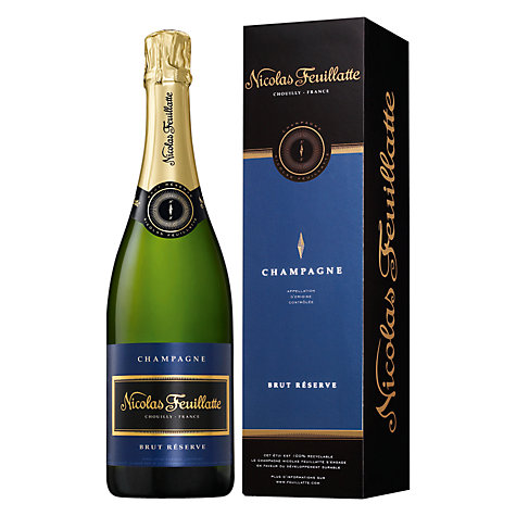 Buy Nicolas Feuillatte Brut Reserve Champagne, 75cl Online at johnlewis.com