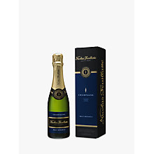 Buy Nicolas Feuillatte Brut Reserve Mini Champagne Bottle, 37.5cl Online at johnlewis.com