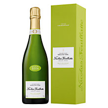 Buy Nicolas Feuillatte Grand Cru Chardonnay Vintage, 750ml Online at johnlewis.com