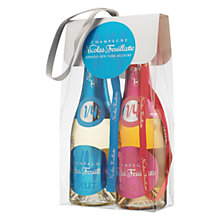 Buy Champagne Nicolas Feuillatte Duo Pack 1/4 Bottles, 200ml Online at johnlewis.com