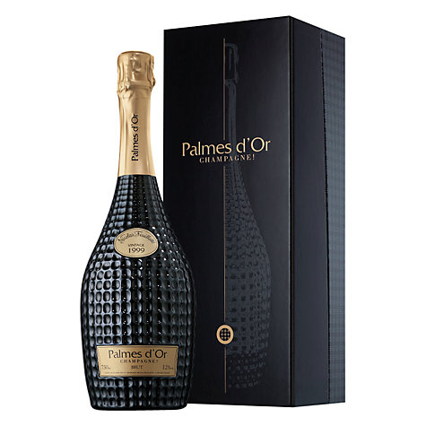 Buy Champagne Nicolas Feuillatte Palmes D'or Brut Vintage, 750ml Online at johnlewis.com