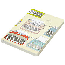 Buy Chronicle Books Eco Typewriter Journal Online at johnlewis.com