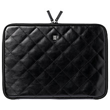 Buy Ordning & Reda Norton 13.3'' Quilted Laptop Case, Black Online at johnlewis.com