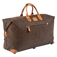 Buy Bric's Life Clipper Holdall, Olive, Medium Online at johnlewis.com