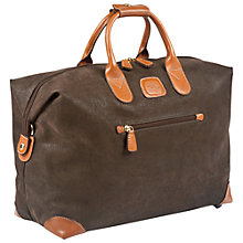 Buy Bric's Life Clipper Holdall, Olive, Small Online at johnlewis.com