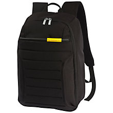 "Buy Mandarina Duck Feather 14"" Laptop Backpack, Black Online at johnlewis.com"