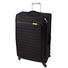 Buy Mandarina Duck Feather 4-Wheel Large Spinner Suitcase, Black Online at johnlewis.com