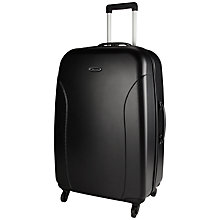 Buy John Lewis Value II 4-Wheel Hard Large Suitcase, Graphite Online at johnlewis.com