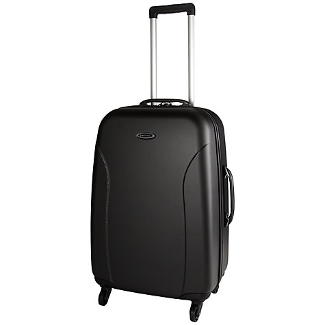 Buy John Lewis Value II 4-Wheel Hard Medium Suitcase, Graphite Online at johnlewis.com