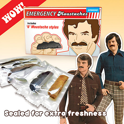 Buy Emergency Moustaches Online at johnlewis.com
