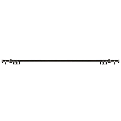 Buy John Lewis Steel Curtain Pole Kit, Traditional Brackets, L120cm x Dia.19mm Online at johnlewis.com