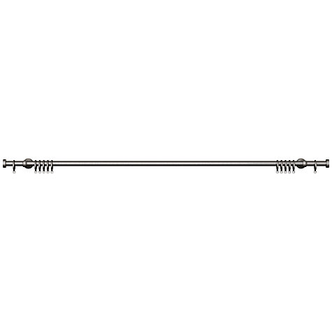Buy John Lewis Steel Curtain Pole Kit, Traditional Brackets, L150cm x Dia.19mm Online at johnlewis.com