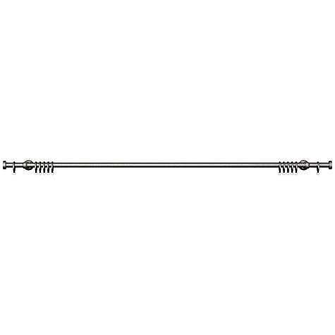 Buy John Lewis Steel Curtain Pole Kit, Traditional Brackets, L180cm x Dia.19mm Online at johnlewis.com