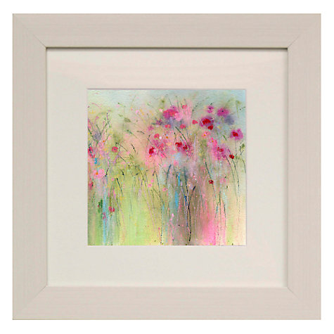 Buy Sue Fenlon- Dolly Mixture Flowers Framed Print, 35 x 35cm Online at johnlewis.com
