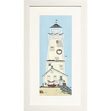 Buy Sally Swannell- Light House II Framed Print, 38 x 68cm Online at johnlewis.com