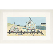 Buy Sally Swannell- Lobster Pot Large Framed Print, 47 x 78cm Online at johnlewis.com