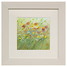 Buy Sue Fenlon- Summer Poppies Framed Print, 35 x 35cm Online at johnlewis.com