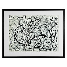Buy Jackson Pollock- Number 14 Framed Print, 89 x 69cm Online at johnlewis.com
