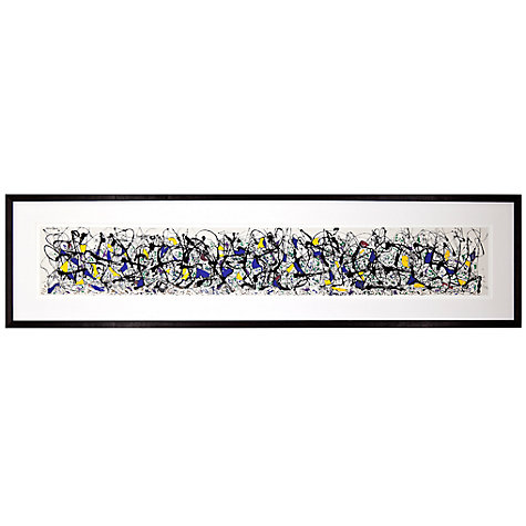Buy Jackson Pollock - Summertime, 39 x 150cm Online at johnlewis.com