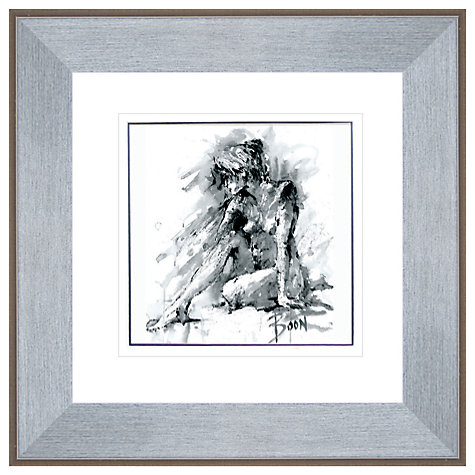 Buy Joanne Boon Thomas- Figurative Study 1 Framed Print, 47 x 47cm Online at johnlewis.com