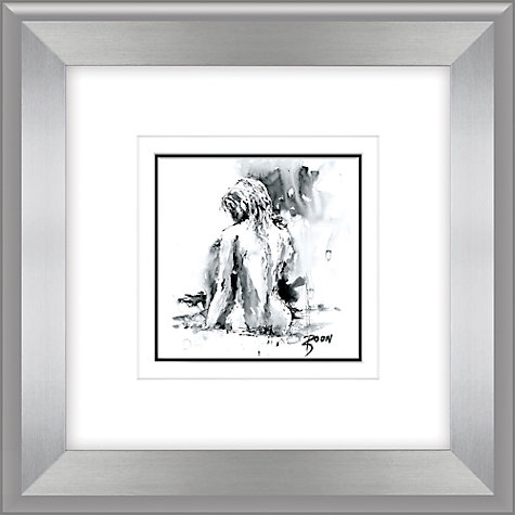 Buy Joanne Boon Thomas- Figurative Study II Framed Print, 47 x 47cm Online at johnlewis.com