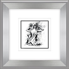 Buy Joanne Boon Thomas- Figurative Study IV Framed Print, 47 x 47cm Online at johnlewis.com