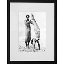 Buy Getty Images James Bond Sean Connery Catches Ursula Andress Framed Print, 50 x 57cm Online at johnlewis.com