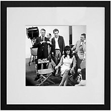 Buy Getty Images Gallery Elizabeth Taylor On Set Framed Print, 50 x 50cm Online at johnlewis.com