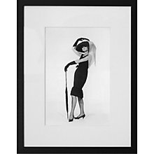 Buy Getty Images Gallery Hepburn In Givenchy Framed Print, 50 x 57cm Online at johnlewis.com