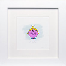 Buy Roger Hargreaves- Mr. Men, Miss Princess Framed Print, 23.5 x 23.5cm Online at johnlewis.com